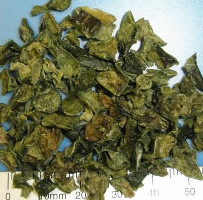 Organic pepper flakes green